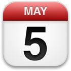 Saturday May 5th 2012